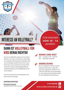 Flyer Volleyball für Kids